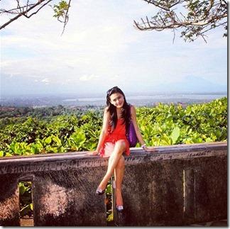 gambar terkini erin malek di Bali Indonesia 8