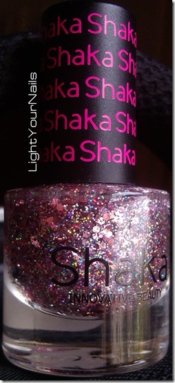 Shaka glitter 03 Flamingo