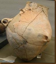 Botella reparada - Los Cascajos - Museo de Navarra