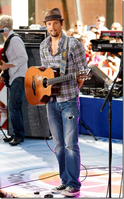 Jason Mraz - 2009 - NBC Today