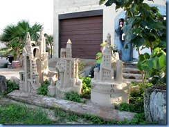6403 Texas, South Padre Island - 'The Wizard's Roost' sand sculpture on Laguna Blvd