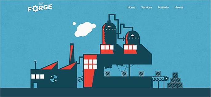 10 nuevos sitios web con diseños frescos y minimalistas