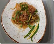 Spaghetti di soia allo zenzero