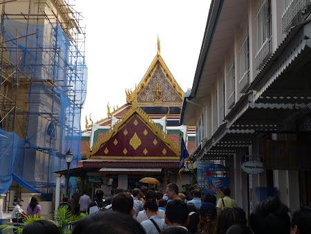 Obiective turistice Bangkok: dupa casa de bilete