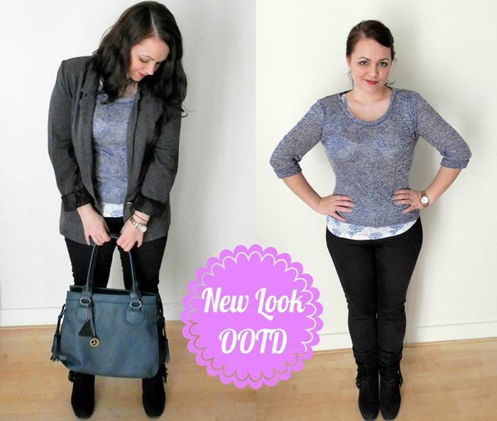 OOTD new look jumper-horz