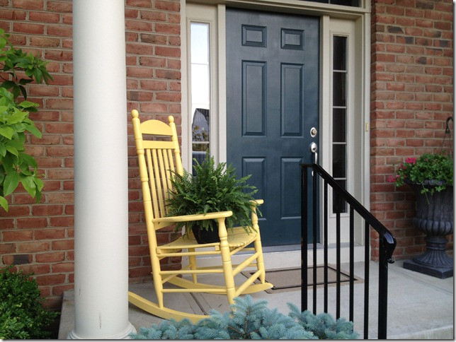 sale yellow chair 027