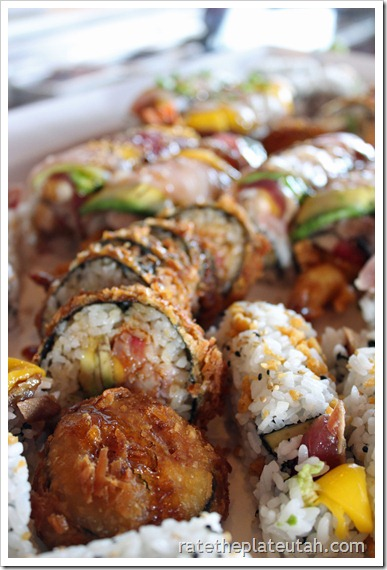 Sushi Groove Tempura-Style Roll