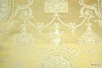 kolor: 07 35% bawełna, 65% bamberg gramatura 290 gr, szerokość 140 cm, raport 74 cm wytrzymałość: 15 000 Martindale Przepis konserwacji: czyścić chemicznie Przeznaczenie: tkanina obiciowa