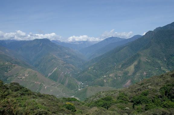 Les Yungas près de Coroico (Bolivie), 18 octobre 2012. Photo : C. Basset