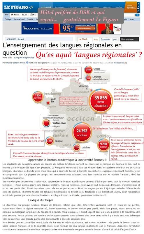 enseigner les langues de France LeFigaro 011111 2