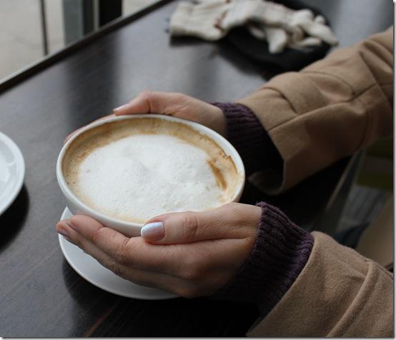 Coffee in a borrowed city