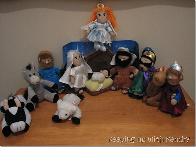 Plush Animal Nativity