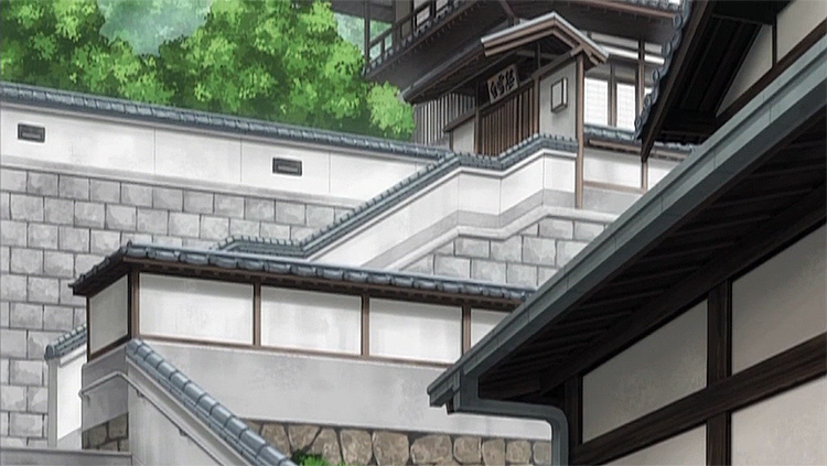Tamayura architecture Takehara screenshot