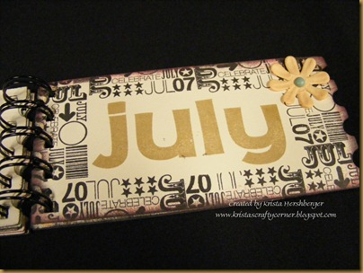 Ticket coupon booklet - July close up - using Nov 11 SOTM