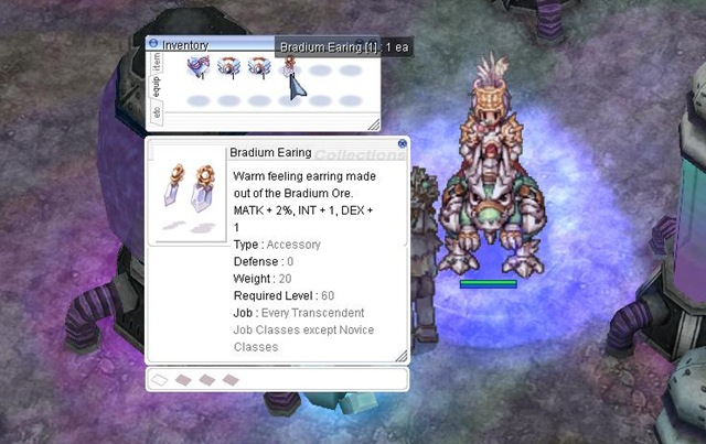 Fredes Request: How to Make Braduim Earrings  Ragnarok Online