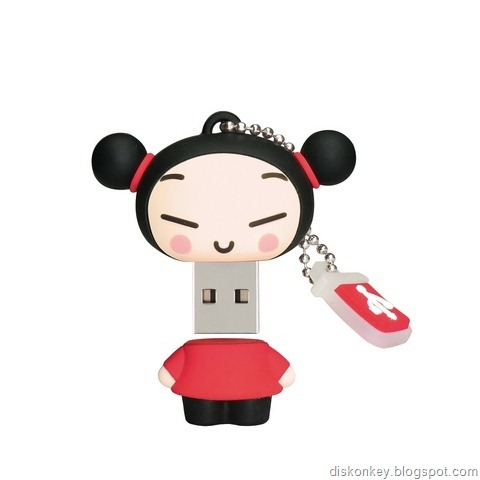 Cool asian girl USB memory stick