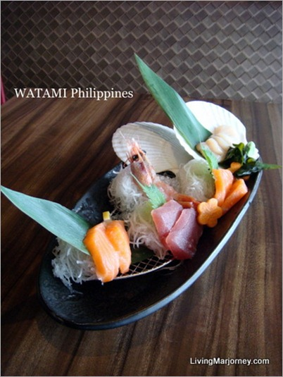 Assorted Sashimi (P425)