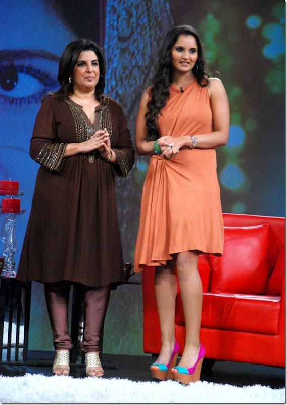 """Shoaib Malik and Sania Mirza on Raveena's show """"Isi ka Naam Zindagi Hai""""2"""