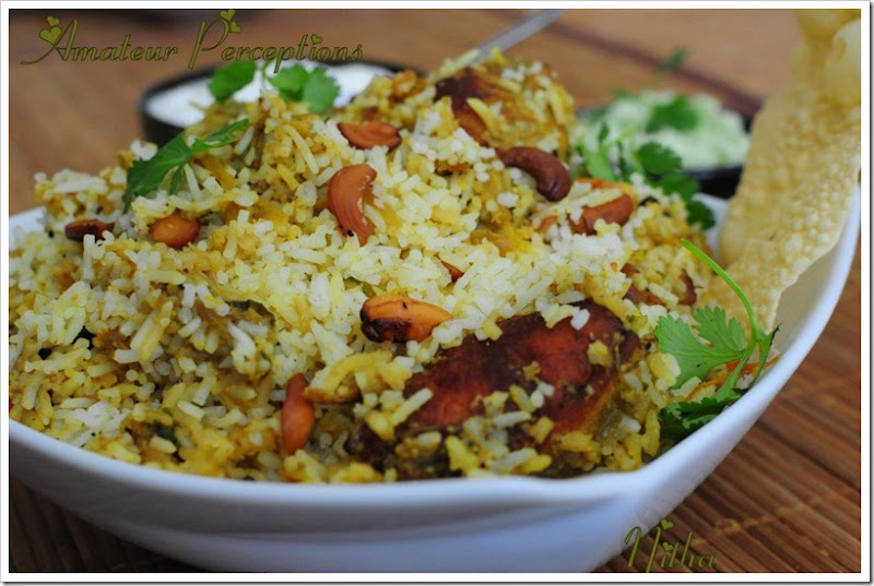 Chicken Biriyani 1