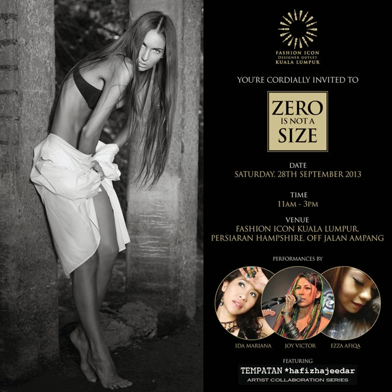 Zero Is Not A Size E-Invitation