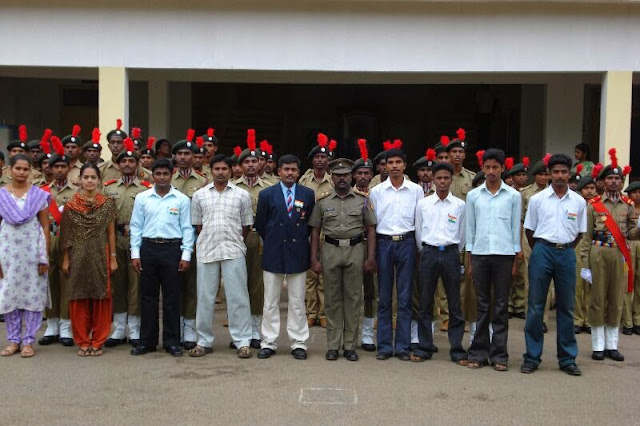 From Left Sgt.Kalpana, Sgt.Dhanalakshmi, CUO.Kannan, CPL.Kumaresan, SUO.Amudhakumar, Lt.Jayaselan, CUO Jayachandran, CPL Muthukumar, SGT Karthikeyan, CPL.Ramkumar