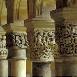 82 - Capiteles del Claustro de San Juan de Duero
