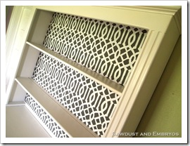 How to Make Your Own Stencil - tutorial on how to create and apply your own stencil design to furniture like headboards, bookcases, and more
