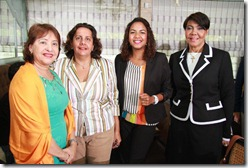 Mercedes Hernandez, Ana Divi Arbaje, Claudia Cedano