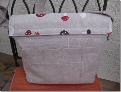 Messanger Bag back
