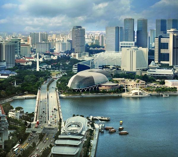 منظر من سنغافورة