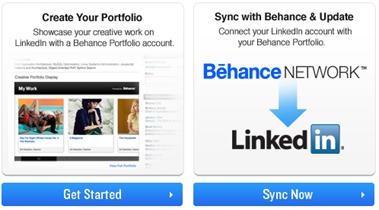 behance linkedin