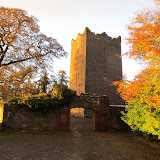 Ross Castle Tower with fall colors