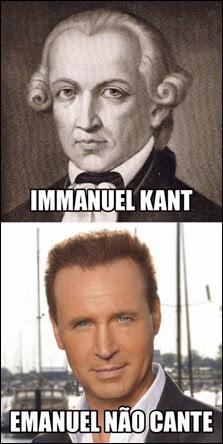 Kant ou não cante
