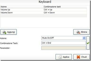 Volume2 settare combinazione di tasti per controllare il volume del PC