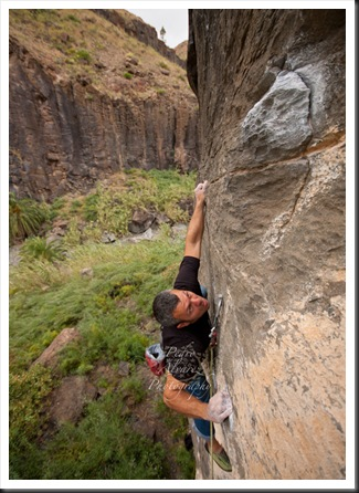 Escalada en canarias, Ayagaures, climb in canarias. 03