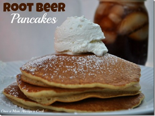 Root Beer Pancakes