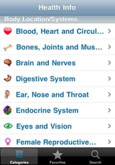 iPhone Health Info App