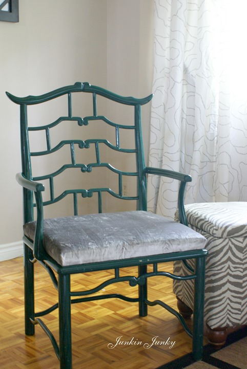 Fretwork Pagoda chair at Junkin Junky