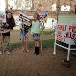 Family Picnics, Music & Art in July 2014