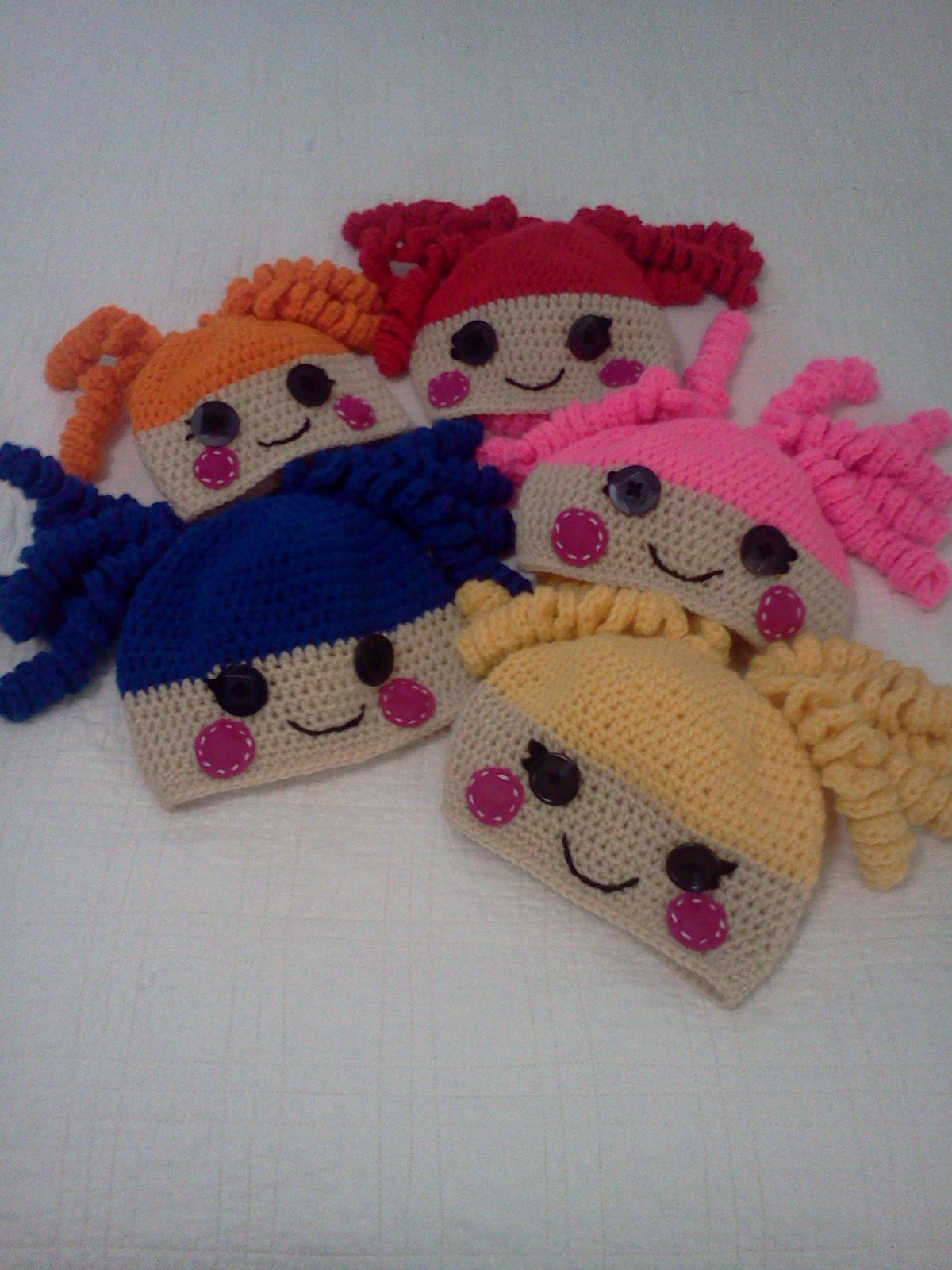 McMaven Haven: Crochet Lalaloopsy Hats!