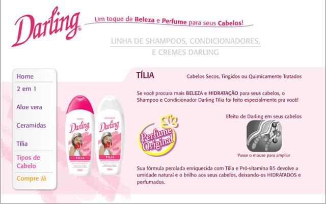 Shampoo Darling- O mesmo cheiro há mais de 20 anos!