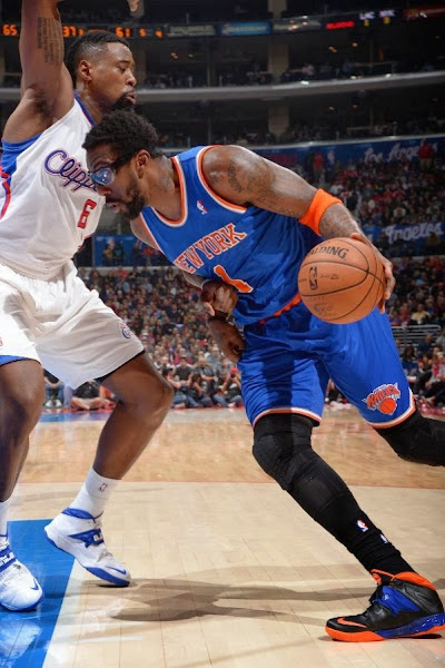 wearing brons nba soldier7 amare knicks 11 Wearing Brons: Amare Stoudemire in SOLDIER 7 Knicks PE (x3)