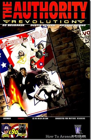 2012-01-07 - The Authority - Volúmen 3, 4 y 5