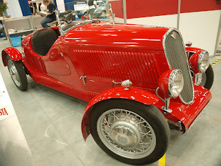 Polski Fiat 508 S z 1938r., silnik poj. 1l. moc 30KM.