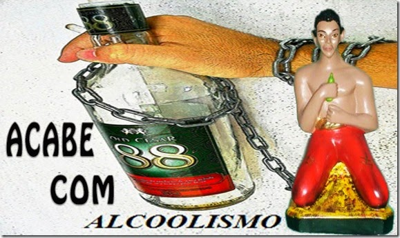 Feitiço para acabar com alcoolismo - curar vicio - macumba - trabalho-ebó