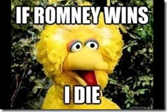 big bird politic statement