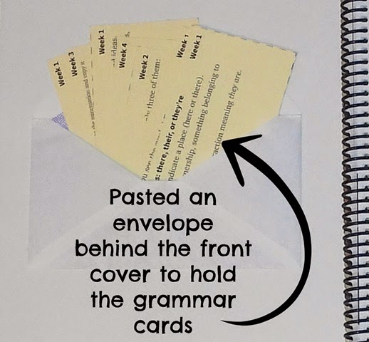 Fix It Grammar Cards