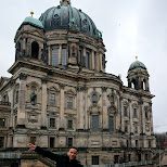 Berliner Dom with George in Berlin, Berlin, Germany