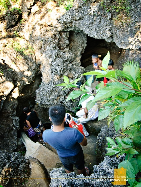 Entrance to Bolinao's Wonderful Cave
