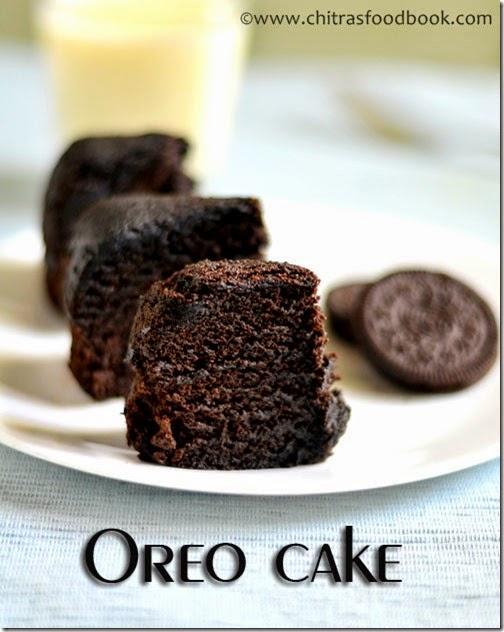 microwave oreo cake